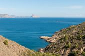 Altea Bay Towards Calpe