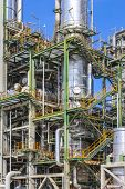Oil And Chemical Factory
