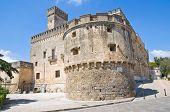 Acquaviva castle. Nardo. Puglia. Italy.