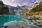 image of siberia  - Mountain Lake - JPG