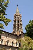 Toulouse landmark poster