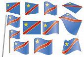 Vlag van Congo-Kinshasa