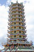8 Angle Pagoda