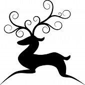 Stylized Reindeer.eps