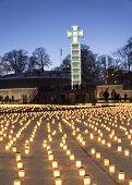 Celebration Of Deportation Anniversary In Tallinn, Estonia