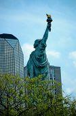 Liberty Statue in Paris