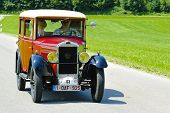rally de carro Oldtimer