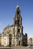 The Hofkirche In Dresden