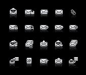E-mail Icons // Silver Series