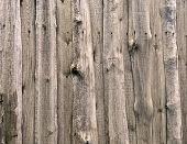 Weathered Wooden Fence poster