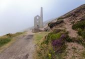 Cornish Tin Mine At Wheal Coates