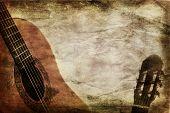 Grunge Background Guitar