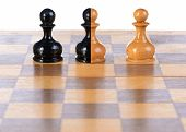 Three Pawns.