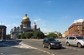 ST.PETERSBURG, RUSSIA - JUN 22: Saint Isaac's Cathedral, Jun 22, 2013, SPb, Russia. Is the largest R