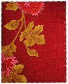 Big Flowers Wallpaper Texture