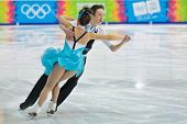 INNSBRUCK, AUSTRIA - JANUARY 17 Millie Paterson and Edward Carstairs (Great Britain) place 11th in t