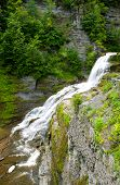 stock photo of lucifer  - Lucifer Falls in summer time located at Robert H - JPG