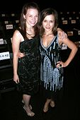 Joy Lauren and Olesya Rulin at day one of the 2007 Mercedes Benz Fashion Week. Smashbox Studios, Cul