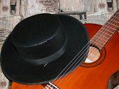 Hat & Guitar