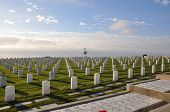United States Military Cemetery in San Diego