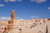 stock photo of hoodoo  - Hoodoos of Bryce Canyon National Park Utah - JPG
