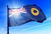 Flag Of Australian State Of Western Australia