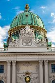 St. Michael's Wing Of Hofburg Imperial Palace. Vienna. Austria.