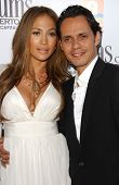 Jennifer Lopez and Marc Anthony at the Los Angeles Premiere of