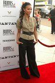 Zoe Saldana at the Los Angeles Premiere of