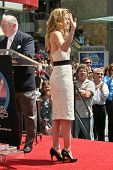 Michelle Pfeiffer at the ceremony honoring her with the 2,345th star on the Hollywood Walk of Fame. Hollywood Boulevard, Hollywood, CA. 08-06-07