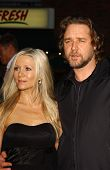 Danielle Spencer and Russell Crowe at the