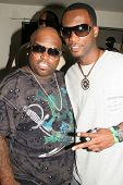 Cee-Lo and Pras at the ROLLING STONE and the Hard Rock Hotel Celebrity Poker Tournament. The Hard Rock Hotel and Casino, Las Vegas, NV. 09-08-07