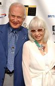 Buzz Aldrin and wife Lois at the 5th Annual BAFTA-LA Tea Party honoring Emmy Nominees. Wattles Mansion, Los Angeles, CA. 09-15-07