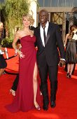 Heidi Klum and Seal  arriving at the 59th Annual Primetime Emmy Awards. The Shrine Auditorium, Los Angeles, CA. 09-16-07