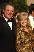 Al Gore and Tipper Gore  arriving at the 59th Annual Primetime Emmy Awards. The Shrine Auditorium, L
