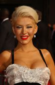 Christina Aguilera arriving at the 59th Annual Primetime Emmy Awards. The Shrine Auditorium, Los Ang