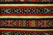 Berber's Carpet Style - Margoum.Background