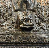 Burmese wood Carving