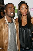 Kanye West and guest at the Intermix Boutique Opening. Intermix, Los Angeles, CA. 09-25-07