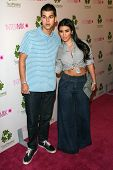 Kim Kardashian and guest at the Intermix Boutique Opening. Intermix, Los Angeles, CA. 09-25-07