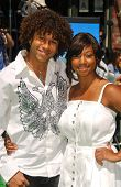 Corbin Bleu and Monique Coleman at the Los Angeles Premiere of