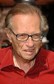 Larry King at the Los Angeles Premiere of