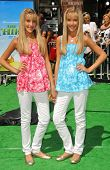 Rebecca Rosso and Camilla Rosso at the Los Angeles Premiere of