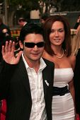Corey Feldman and Susie Sprague at the 2007 Alma Awards. Pasadena Civic Auditorium, Pasadena, CA. 06