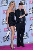 Cameron Diaz and Mike Myers arriving at the 2007 MTV Movie Awards. Gibson Amphitheatre, Universal City, CA. 06-03-07