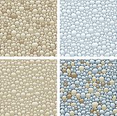 seamless patterns with stones