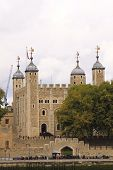 Her Majesty's Royal Palace And Fortress, Tower Of London, Seen From The River Thames