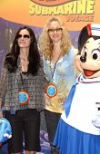 Courtney Cox and Lisa Kudrow at the Opening of Disneyland's