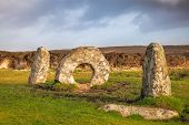 Men-an-tol Cornwall England Uk