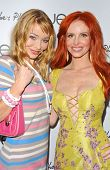 Lorielle New and Phoebe Price at the launch of Phoebe's Phantasy by Lotion Glow. Kaje Boutique, Beverly Hills, CA. 06-16-07